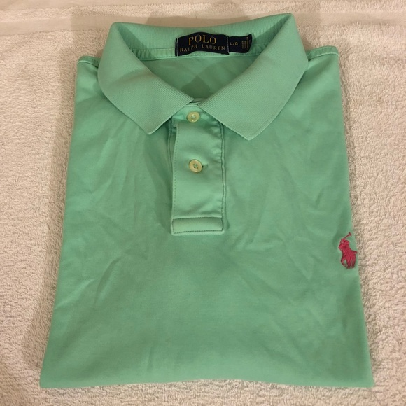 Polo by Ralph Lauren Other - Polo Ralph Lauren Mint Green Polo Shirt L